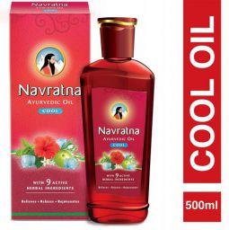 Navratna Ayurvedic Cool Hair Oil  (300 ml)