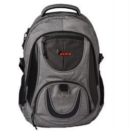 F Gear Axe Melange 31 Ltrs Light Grey Casual Backpack (2705)