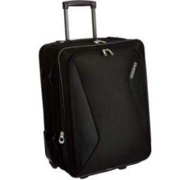 American tourister Columbia Polyester 55 cms Black Travel Bag