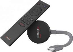Airtel Xstream Smart Stick HP2707 Media Streaming Device  (Black, Grey)