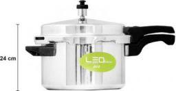 Leo Natura Eco Select 5 L Pressure Cooker (Aluminium)