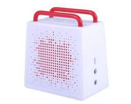 Antec AMP SPZero Portable Wireless Bluetooth Speaker & Speakerphone (White)