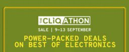 The Cliqathon Sale | Electronics Sale on Tatacliq.com | 9-13 September