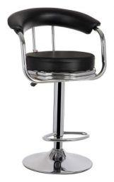 MBTC Magma Bar Stool Chair In Black