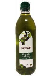 Kinsfolk Organic Extra Virgin Olive Oil (Imported Oil from Spain) - 1 LTR