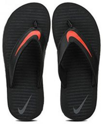 Nike Men Black Flipflop