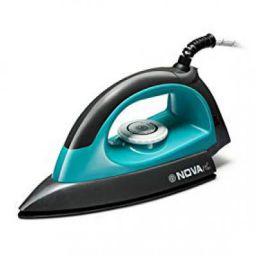 Nova Plus Amaze NI-10 1100-Watt Dry Iron (Grey/Turquoise)