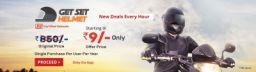 Helmet at Starting at Rs 9 | Droom Get Set Helmet Sale