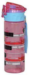 Disney Minnie Plastic Sipper Bottle, 600ml, Pink/Blue