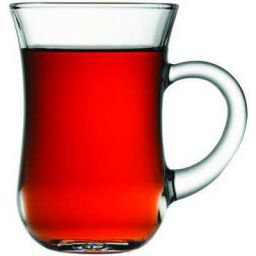 Pasabahce Coffee Mug Set, 150ml, Set of 6, Clear