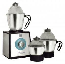 Cello Grind-N-Mix GNM1200-Platinni 850-Watt Mixer Grinder with 3 Jars