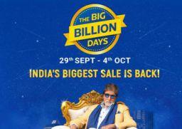 Flipkart Big Billion Days 2019: 29th Sep to 4th Oct