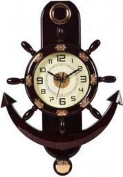 Smile2u Retailers Analog 45 cm X 30 cm Wall Clock  (Black, With Glass)
