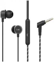 boAt Bassheads 172 In-ear Wired Headphone (Black)