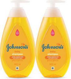 Johnson's New No More Tears Shampoo 500 ml (Pack of 2)