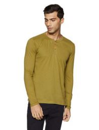 Cloth Theory Men's Solid Regular Fit T-Shirt