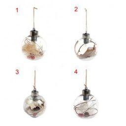 Belity Beautiful Christmas Tree Hanging Ornaments LED Transparent Ball Light Christmas Decor