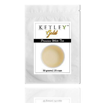 Ketley Gold White Tea | Premium Long Leaf Tea from Assam