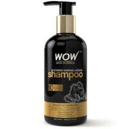 WOW Skin Science Charcoal & Keratin Shampoo