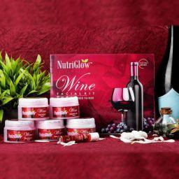 Nutriglow Wine Facial Kit 260gm