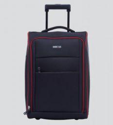 Bags R Us 36 Ltr Polyester Black Cabin Trolley Bag