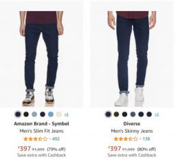 Men's Jeans Min.70% Off