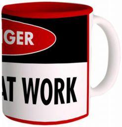 Posterboy 'Genius at Work' Ceramic Mug