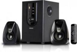 Onix OHT 201E 40 W Bluetooth Home Theatre  (Black, 2.1 Channel)