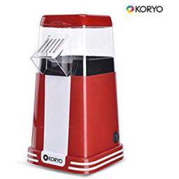 Koryo KPM1218PR 1200 Watt Popcorn Maker (Red)