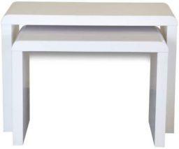 Forzza Jura 2-Set Nesting Tables (Black)