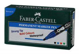 Faber-Castell Permanent Marker Pen - Pack of 10