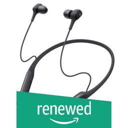 (Renewed) Sony WI-C600N Wireless Digital Noise-Cancelling in-Ear Neck-Band Headphones (Black)