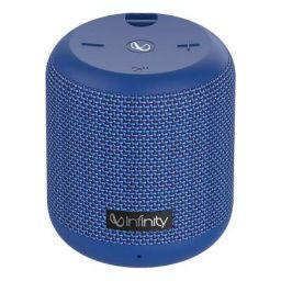 (Renewed) Infinity (JBL) Fuze 100 Dual EQ Deep Bass IPX7 Waterproof Dual Connect Portable Wireless Speaker (Mystic Blue)