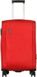 Swiss Eagle Polyester 20 cms Red Softsided Check-in Luggage (OXFORD3678RD-20)