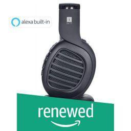 (Renewed) iBall Decibel Bluetooth 5.0 Headphone with SD/FM/Alexa Built-in (Black Edition)