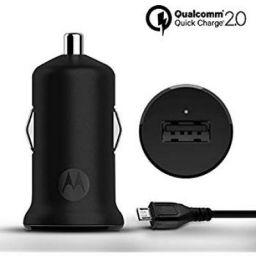 Motorola Turbo Power 15W Qualcomm 2.0 Quick Charge Car