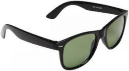 Men's Black Rectangle Sunglasses With Box
