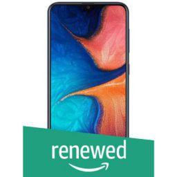 (Renewed) Samsung Galaxy A20 (Blue, 3GB RAM, 32GB Storage)