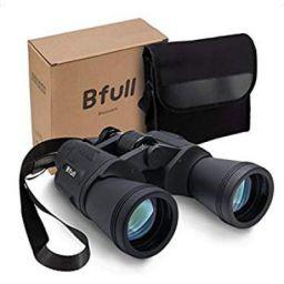 BFULL 12 x 50 Binoculars for Adults Kids, Compact Binocular Folding Durable Binoculars Stargazing +Carrying case + Strap