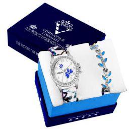 Mikado Evergreen Bracelet Style Combo Set for Girls Analog Watch