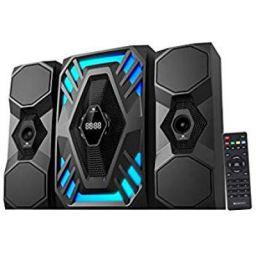 Zebronics Zeb-Future 2 BTRUCF 2.1 Channel Multimedia Speaker with Remote