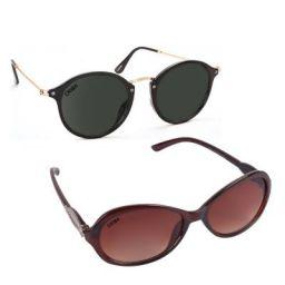 Criba Gradient Butterfly Unisex Sunglasses