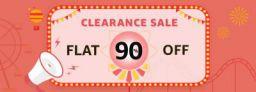 Amazon Fashion Flat 90% off
