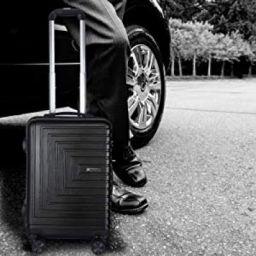 Cross Dora Polycarbonate 57 cms Black Hardsided Cabin Luggage