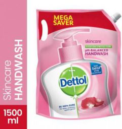 Dettol Skin Care pH-Balanced Hand Wash Pouch