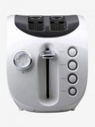 Croma CRAK6096 800W 2 Slice Pop Up Toaster (White/Black)