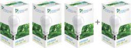 Syska Led Light 7W With Free 3W LED  (White, Pack of 4)