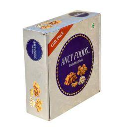 Ancy Gift Box for Diwali Special Dry Fruits Almonds 100 Grams Cashew 100 Grams Kishmish 100 Grams