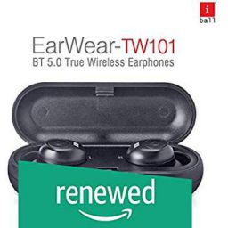 (Renewed) iBall Earwear TW101 Ear Bud with Protective Charging Cum Carry Case
