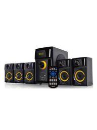 QFX QS-Disco 5.1 Channel Multimedia Bluetooth Speaker